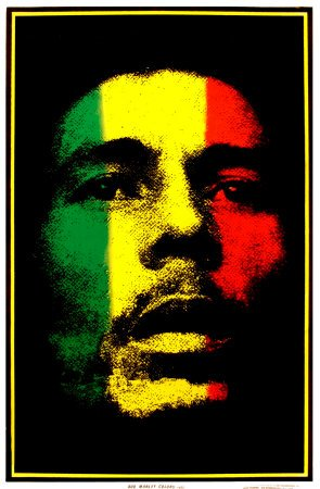 Bob Marley Lion Poster. Stuff We Love : Bob Marley