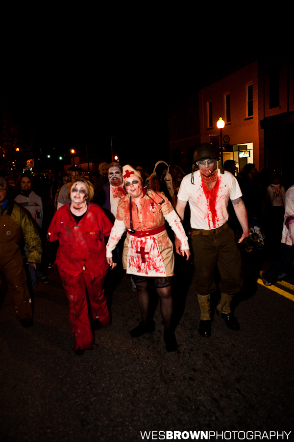 Zombie Walk 2011 in Somerset, KY by Wes Brown Photography